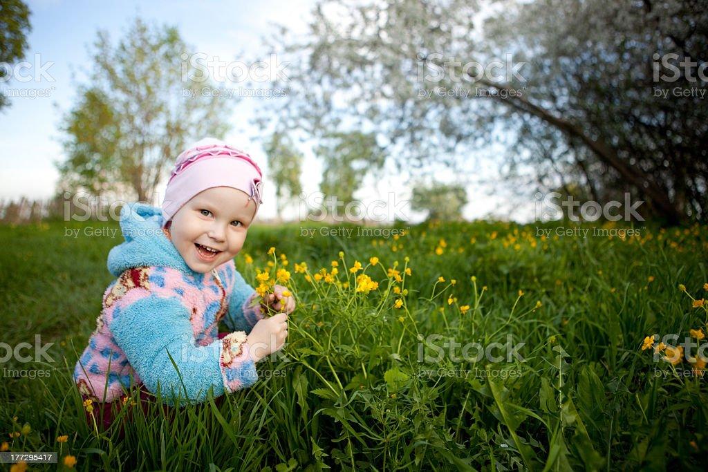 Little girls. royalty-free stock photo