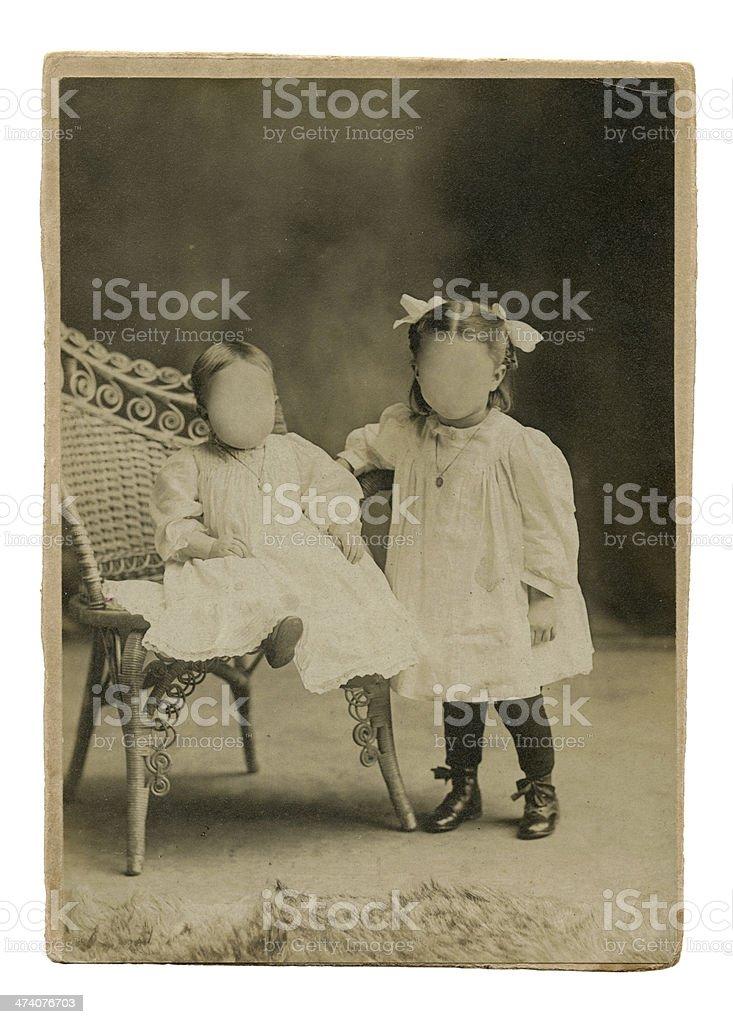 Little girl's royalty-free stock photo