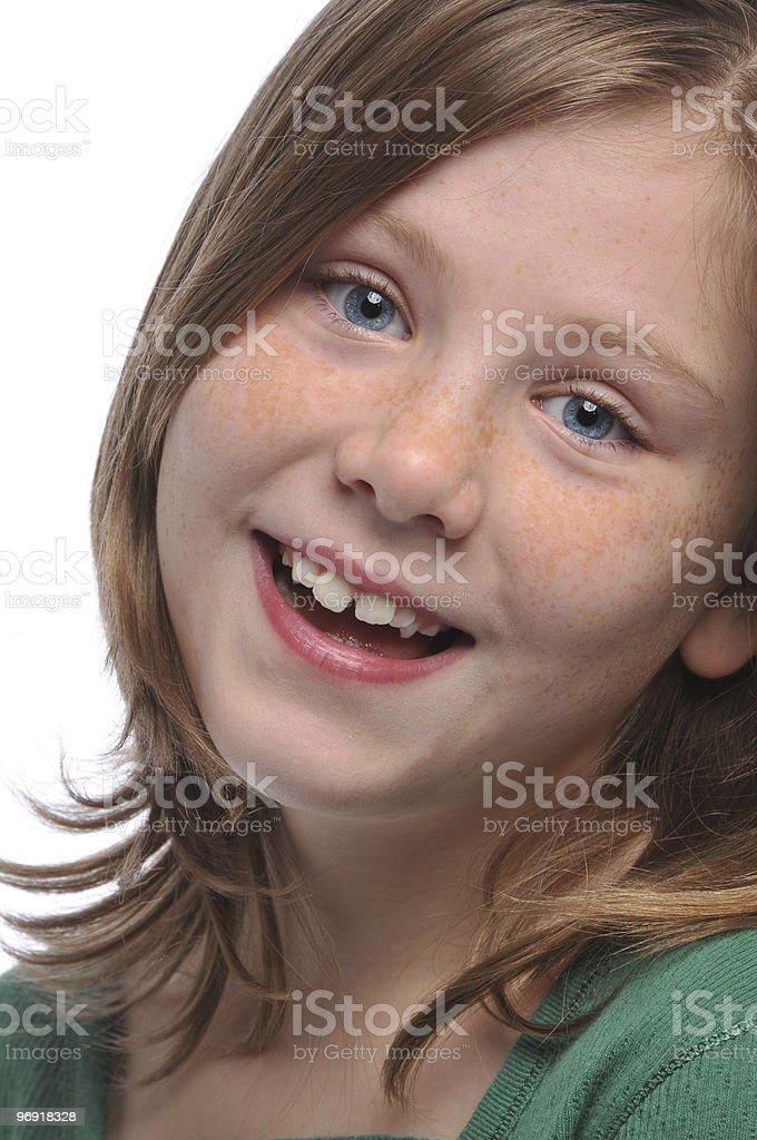 Little girl's portrait royalty-free stock photo