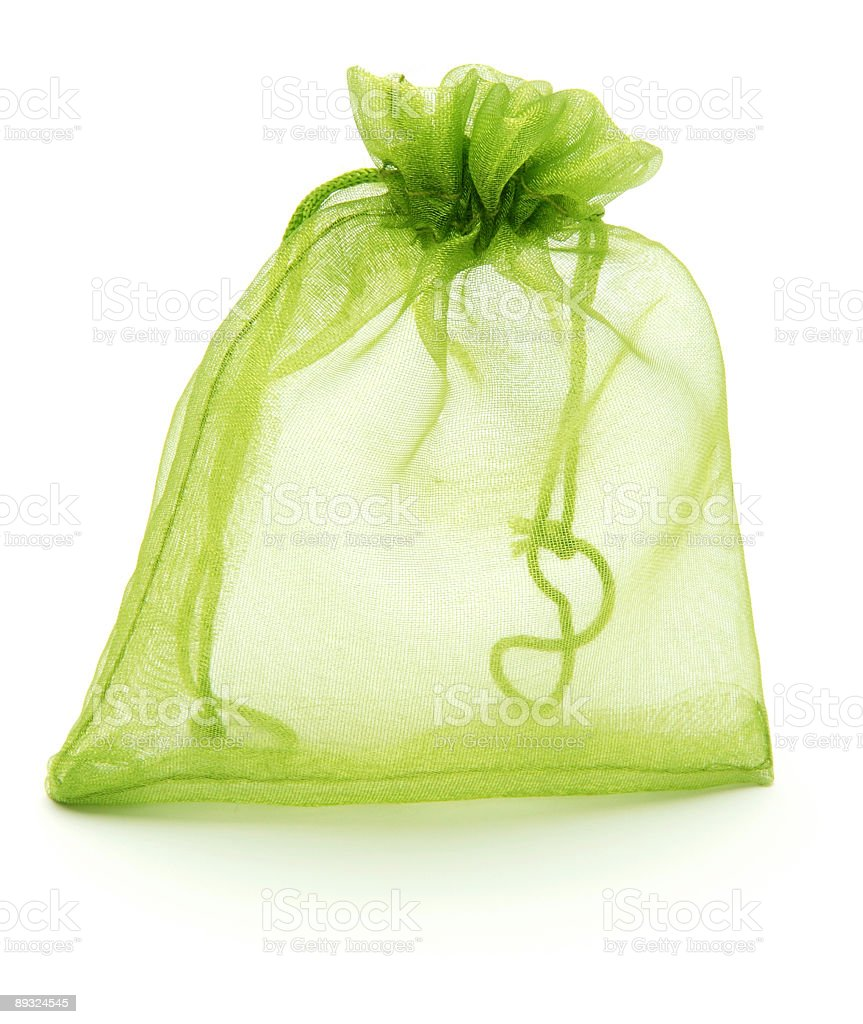 little green bag royalty-free stock photo