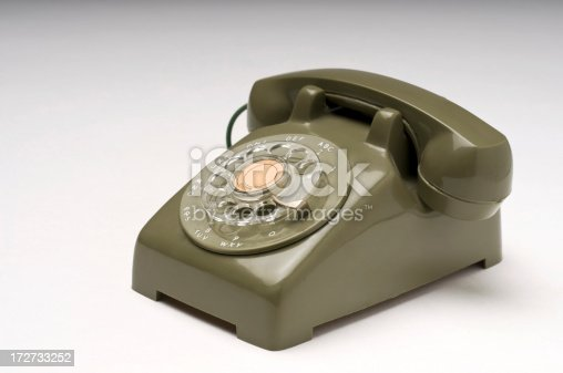 istock Little Green Phone 172733252