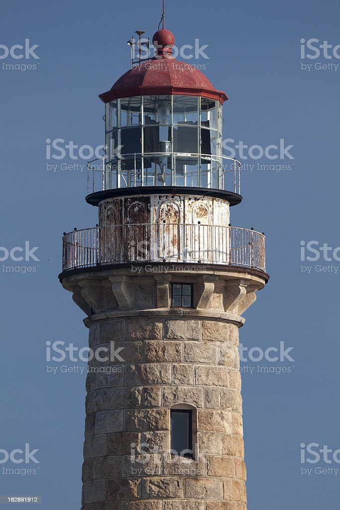 Little Gull Island Lighthouse stock photo
