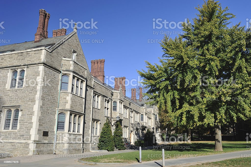 Little Hall in Princeton University stock photo