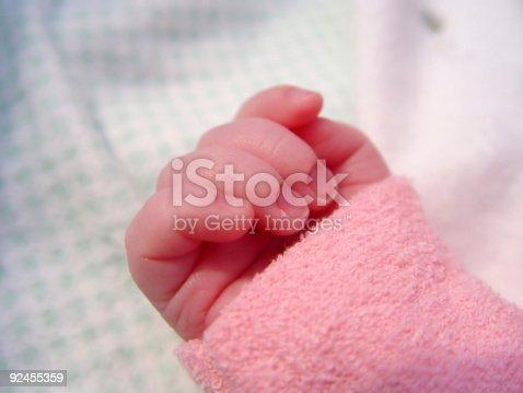 istock Little Hand 92455359