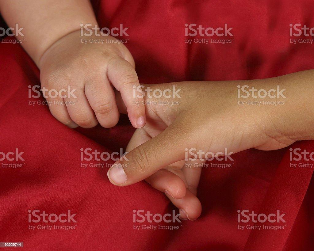 Little Hands stock photo