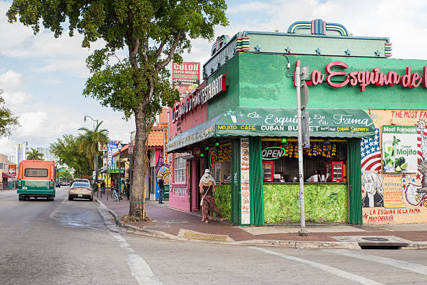 Little Havana Miami stock photo