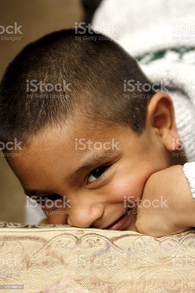 little hispanic boy royalty-free stock photo