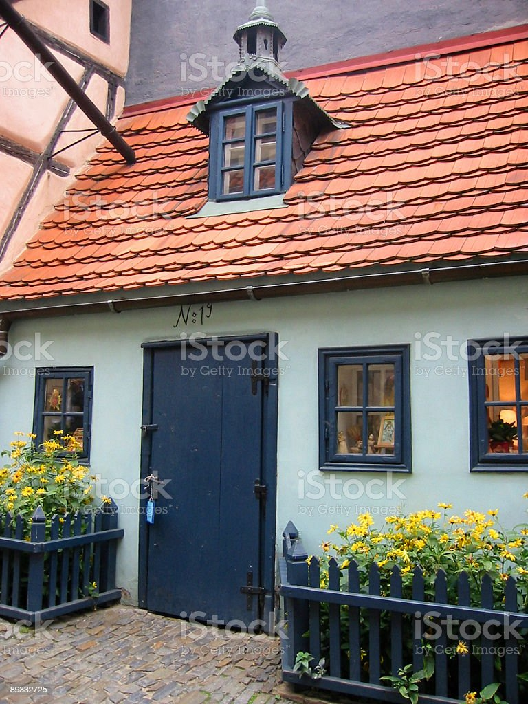 Little house in Golden Lane Prague​​​ foto