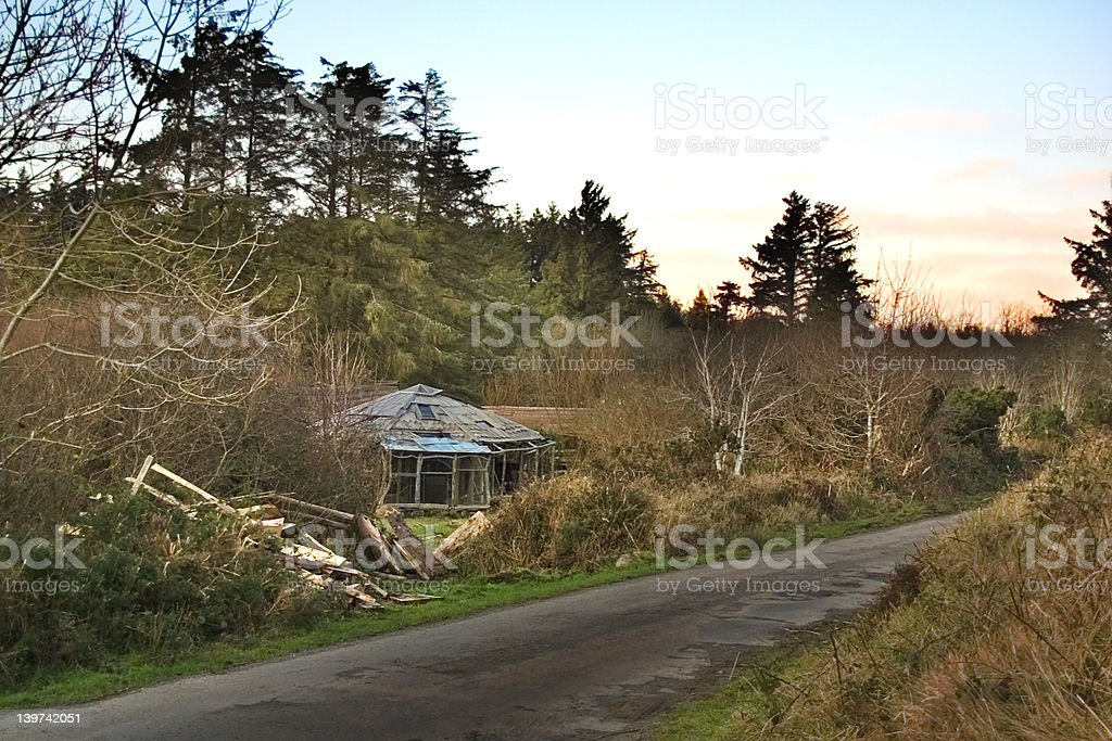 Little House In The Big Woods royalty-free stock photo