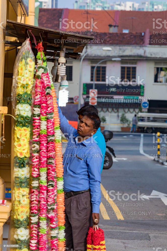 Little India, Singapore, Asia stock photo