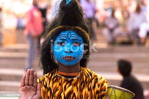 Little Indian Boy Praying
