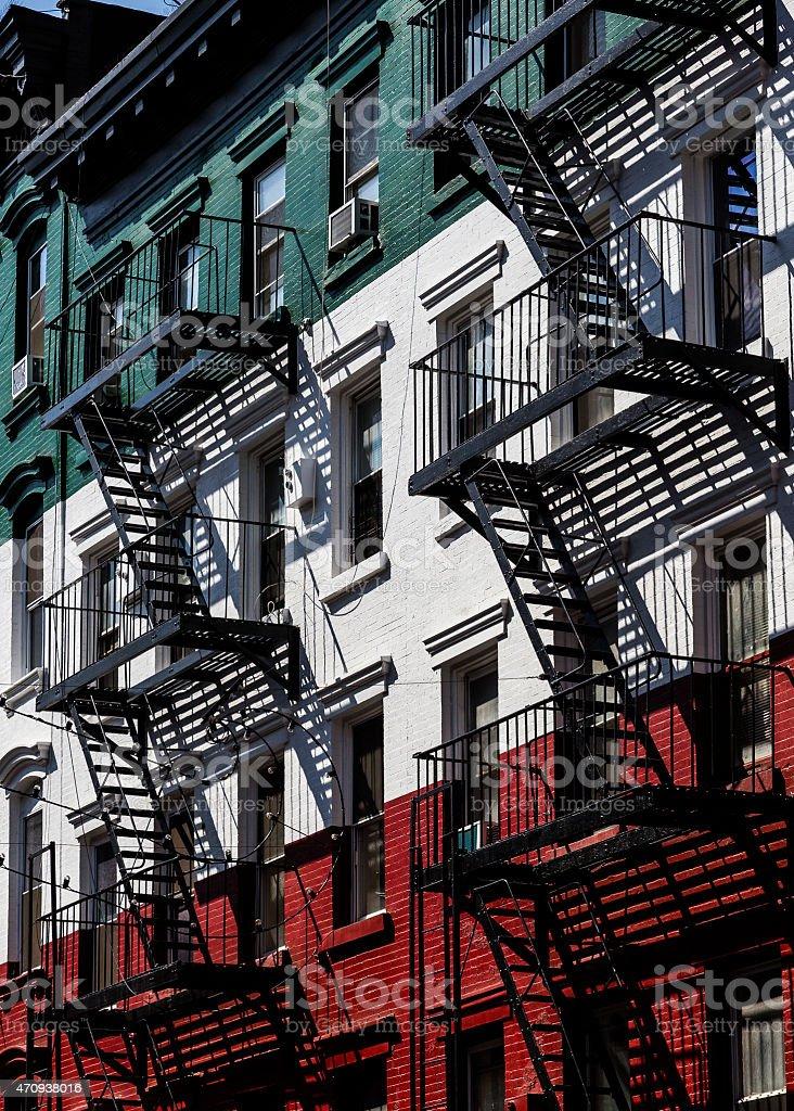 Little Italy, NYC stock photo