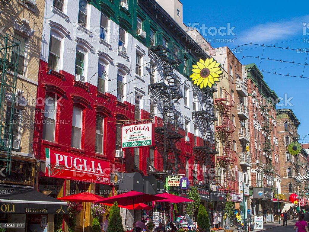 Little Italy NYC stock photo