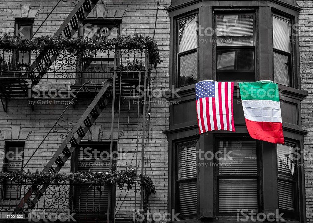 Little Italy, NYC, USA stock photo