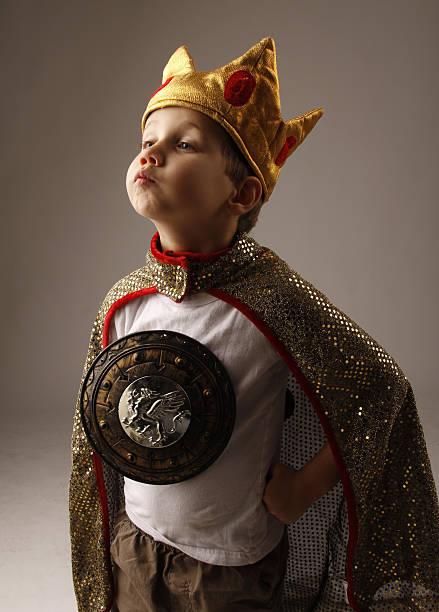 Little King stock photo