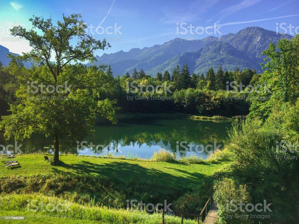 Kleiner See in Bad Reichenhall – Foto