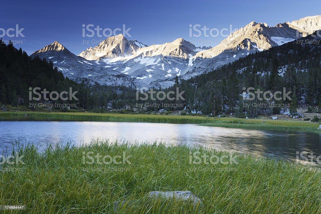 Little Lakes Valley stock photo