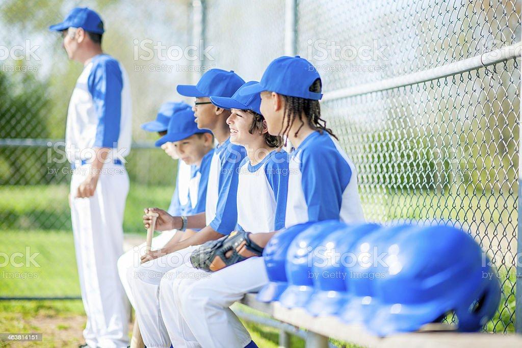 Little League Baseball stock photo