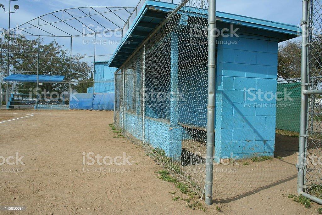 Little League Field stock photo