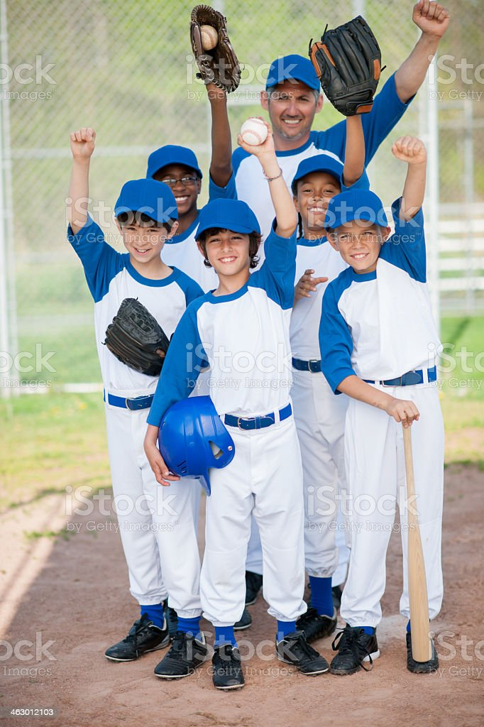 little league stock photo