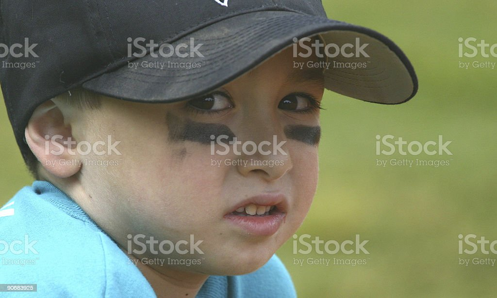 Little League royalty-free stock photo