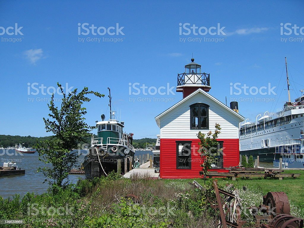 Little Lighthouse stock photo