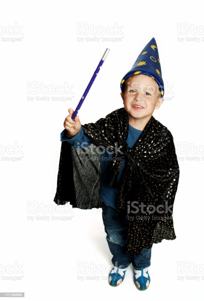 Little Magician 02 stock photo