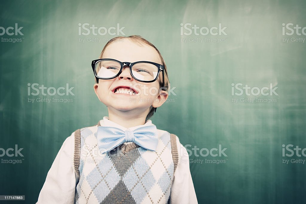 Little Marty the Smarty stock photo