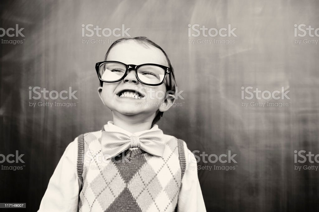 Little Marty the Smarty royalty-free stock photo