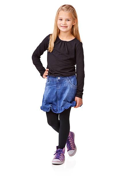 Little Miss stock photo