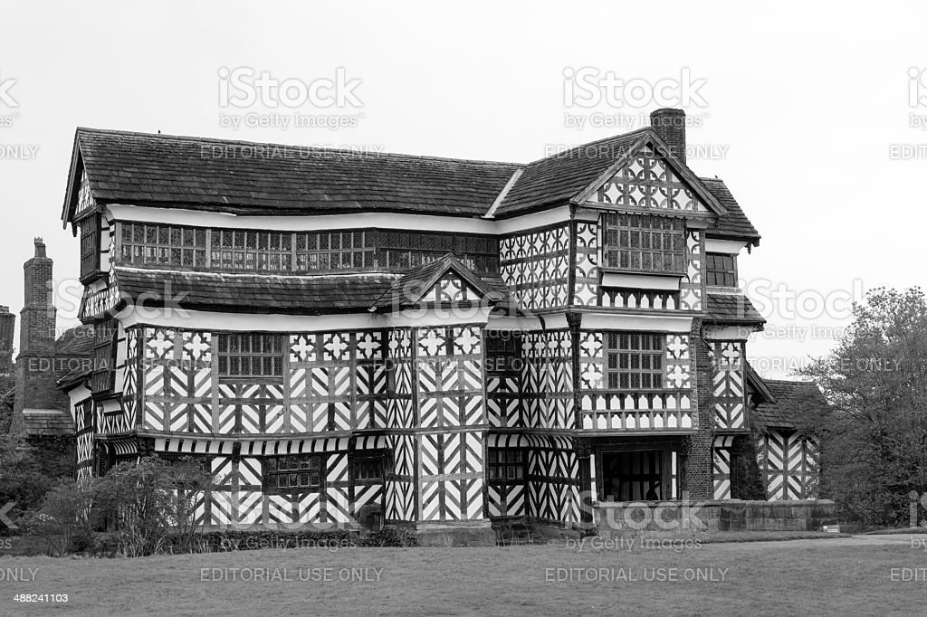 Little Moreton Hall royalty-free stock photo