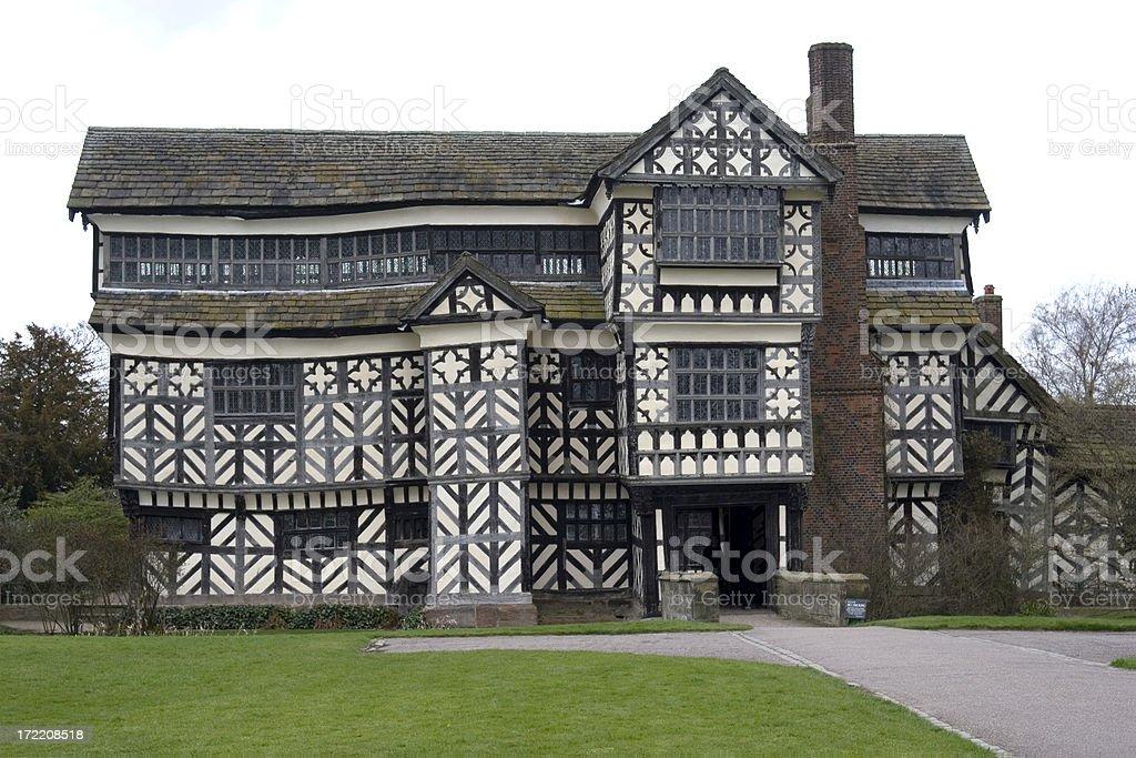 Little Moreton Hall, UK stock photo