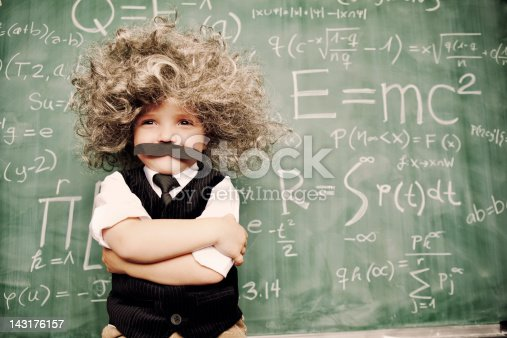 istock Little Mr. Smarty Pants 143176157