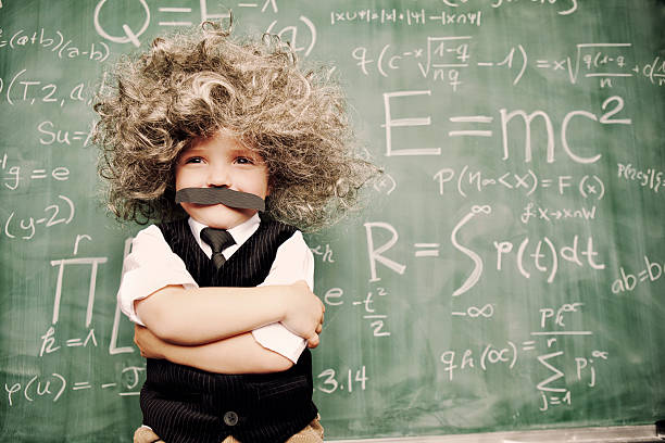 Little Mr. Smarty Pants stock photo