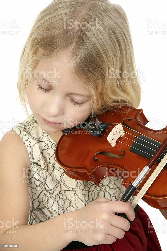 Little Musician royalty-free stock photo
