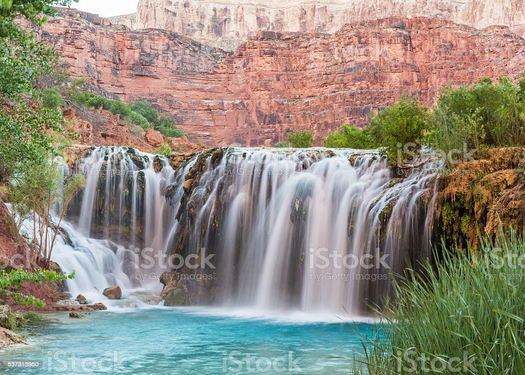 Poco cascate navajo in havasu canyon fotografie stock e for Piani domestici su ordinazione arizona