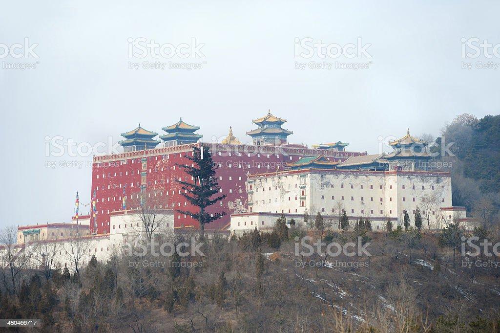 Little potala palace in Chengde - China stock photo