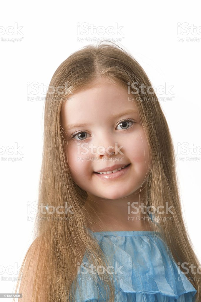 Little, pretty girl. royalty-free stock photo