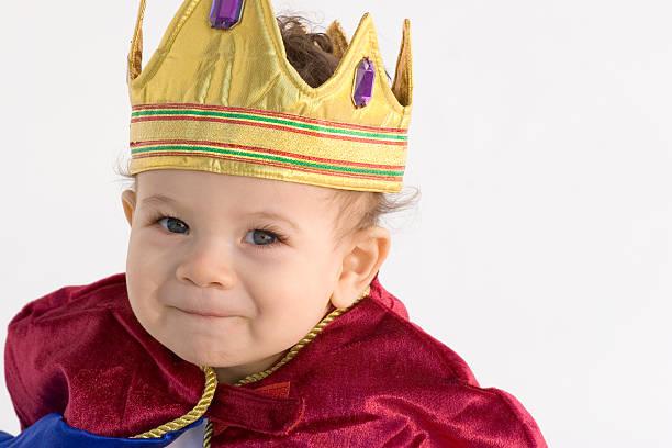 little prince - prinzenkrone stock-fotos und bilder