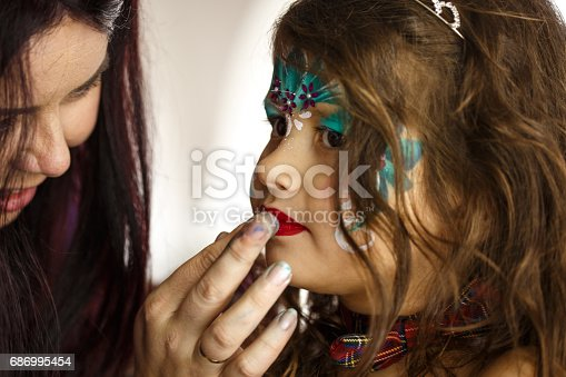 istock Little princess in the making 686995454