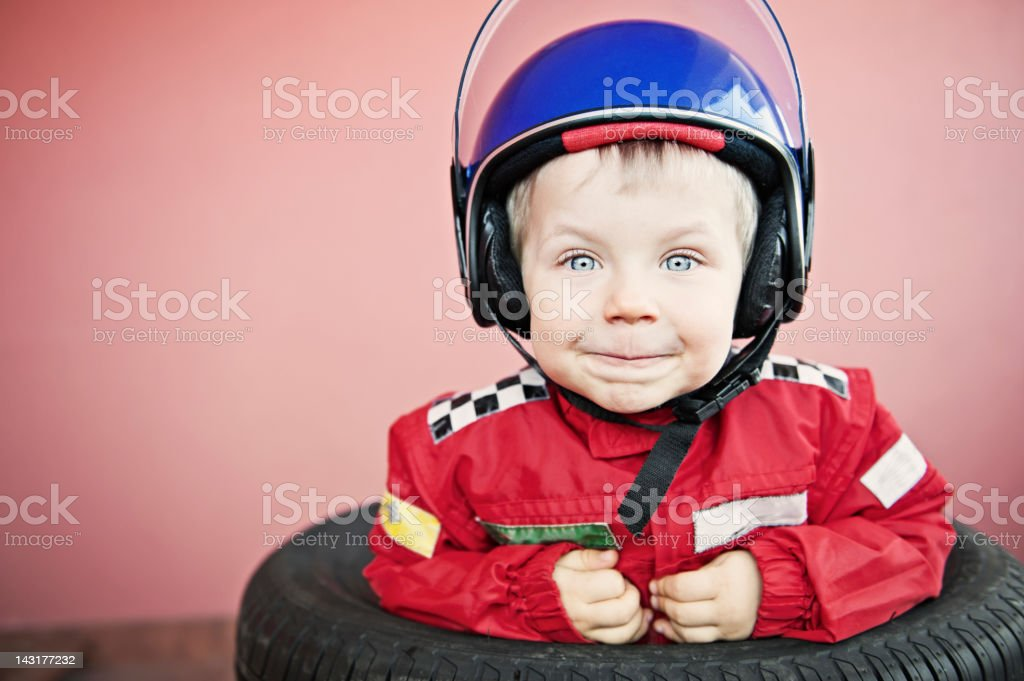 Little racer royalty-free stock photo