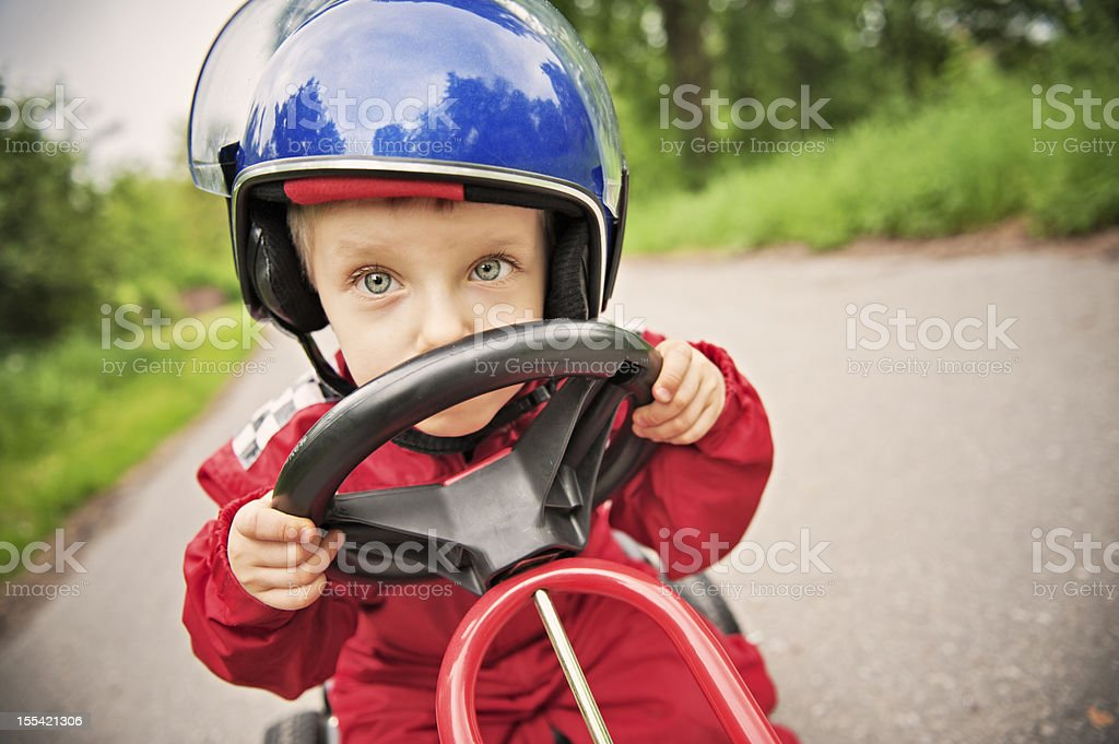 Little racer stock photo