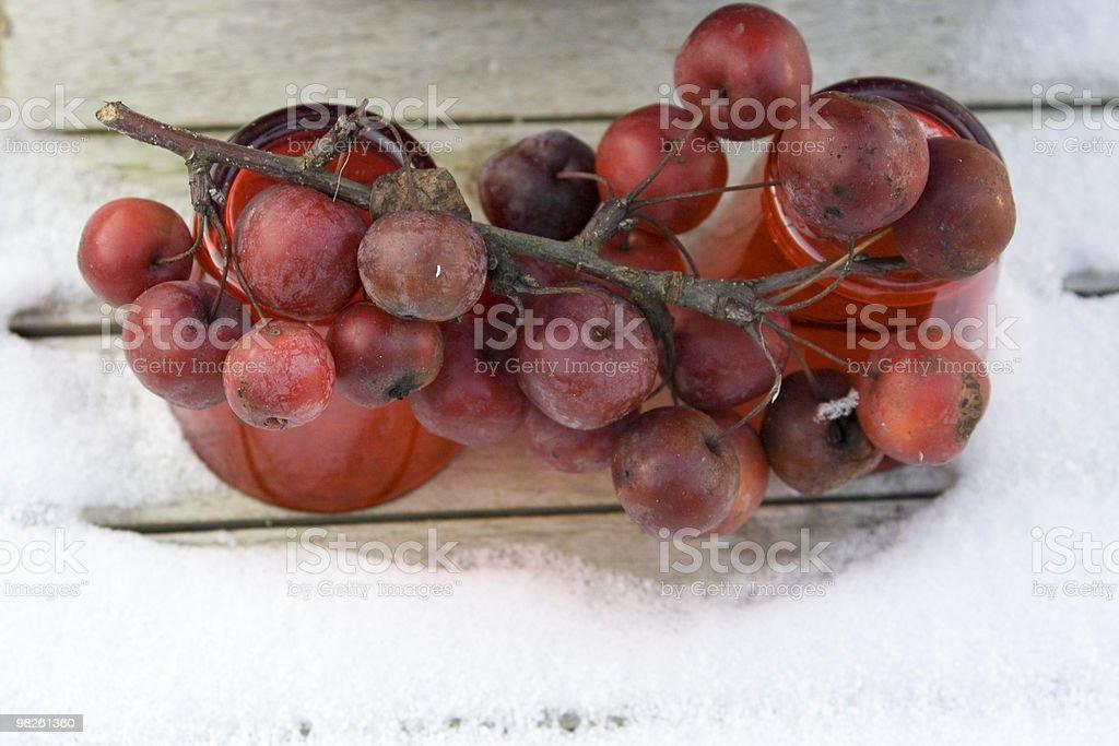 리틀 레드 사과들 royalty-free 스톡 사진