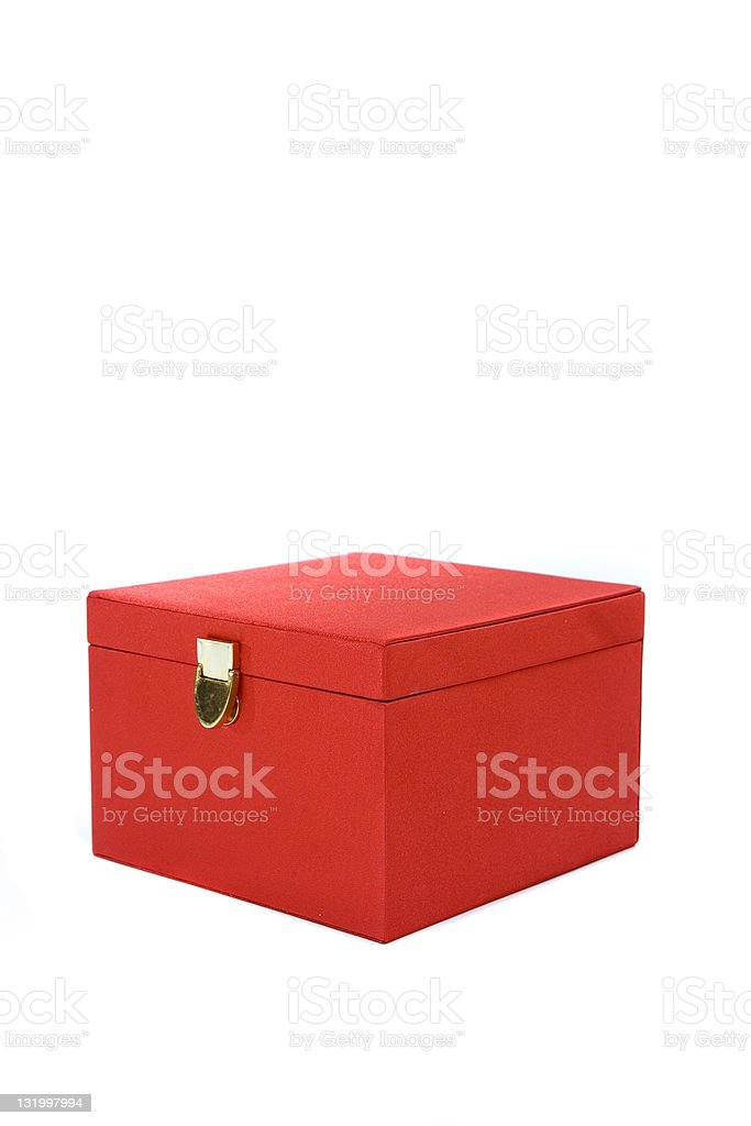 Little red box royalty-free stock photo