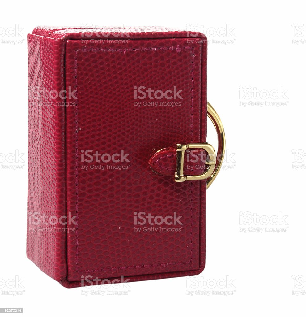little red box stock photo