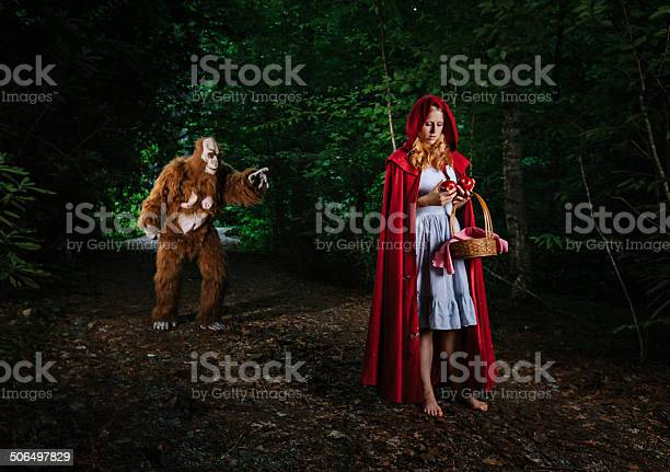 Little red riding hood lost in the forest picture id506497829?b=1&k=6&m=506497829&s=612x612&h=i19v 1 d2t3alqxj cat27svqaemumjbeye3l2wtcmm=