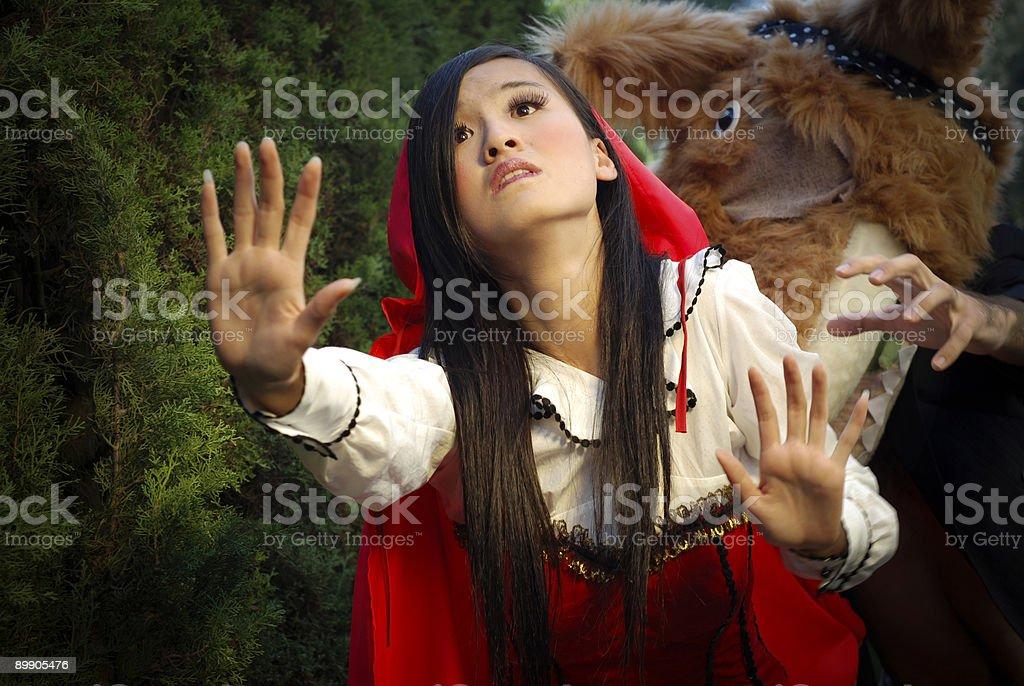 Маленькая Красная Освобождающая Крышка Стоковые фото Стоковая фотография