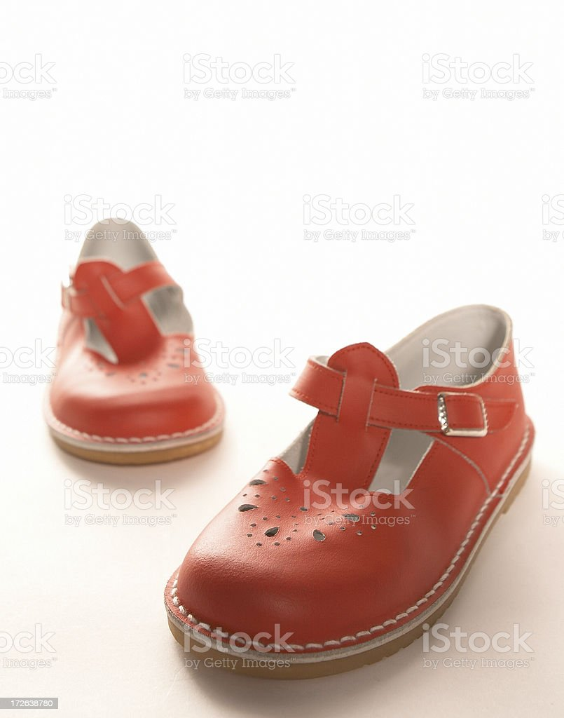 Little Red Shoes II royalty-free stock photo