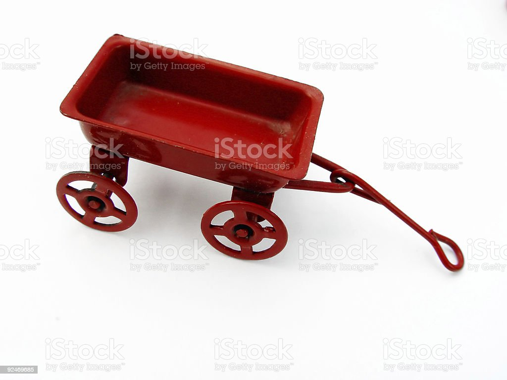 Little Red Wagon Ii Stock Photo Download Image Now Istock