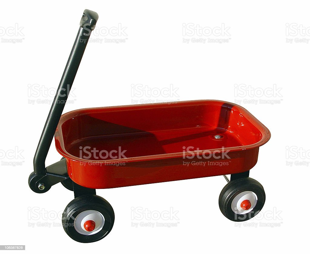 Little Red Wagon Stock Photo Download Image Now Istock